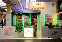 Stoisko Actavis na kongresie PTK