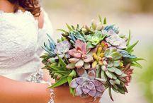 Trouwen: Alternatieve Bruidsboeketten / Een bruidsboeket met bloemen zie je vaak, maar wat kun je doen als je iets anders wilt? Op dit bord zie je de meest uiteenlopende ideeën!
