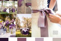 ウエディング 紫