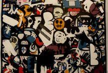 TOILES URBAINES GRAFFITI / Oeuvres originales, graffiti, street art, découvrez ici les toiles d'artistes de rue...