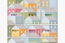 Syede huse og byer