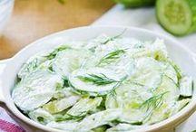 salade de concombre yaourt