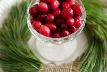 Christmas / Christmas, christmas inspiration, traditional christmas colors, red and green