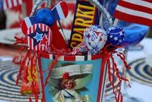 Holidays: Independence Day / Ideas for a great 4th of July