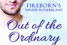 Out of the Ordinary / Inspiration board for my Christmas story Out of The Ordinary published by Fireborn Publishing