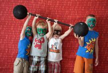 Girl Superhero Birthday Party / by Katelyn Roberson