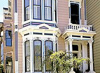 Colorful Victorian Houses from San Francisco and Elsewhere