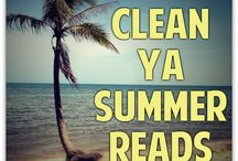 Clean YA Summer Reads / YA (or New Adult) books that we have either read and recommend as a summer read, or ones that we hope to read this summer.  Let me know if you would like to contribute to this board!