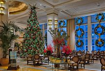 CELEBRATE THE HOLIDAYS! / Images and ideas from our blog posting 5 Reasons To Celebrate The Holidays At The Peninsula Chicago!