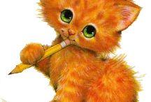 Cats & mouses / Koty, kotki i myszki