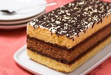 Recetas / Biscocho. Relleno con muss de chocolate