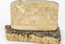 clutch cork bag