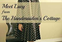 Lucy Dress by Handmaiden's Cottage / Creative Inspiration for the Lucy Dress PDF Sewing Pattrn by the Handmaiden's Cottage
