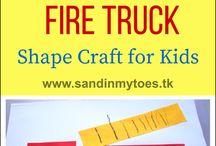 fire truck activity