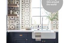 Tiles Around the World - Inspiration