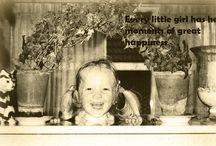 My life as a little girl