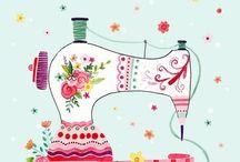 Sewing machine tekeninge