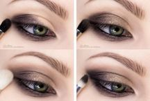 Augen Make-up Smokey Eye