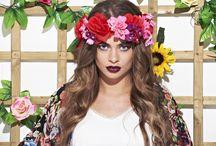 MJF Floral Campaign S/S14 / www.maryjanefashion.com