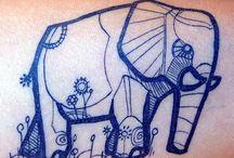 ink on skin / by sarah schmelzer