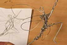 Wire sculpting