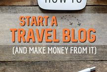 Travel blogging tips / Tips to help travelers create and monetize a travel blog.