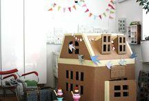 CARDBOARD HOUSES/PLAYAREAS