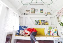 Cubby house outside