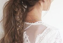 Boho & Antique Hair Style