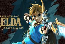 The Legend of Zelda: Breath of the Wild / Art/screenshots from The Legend of Zelda: Breath of the Wild and compatible amiibo.