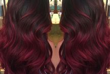 Hair Red Ombre
