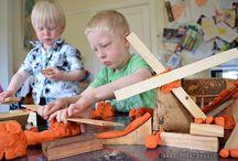 kids: blocks and legos