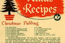 Wartime and  Christmas recipes