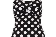 Swimwear / Vintage inspired swimwear. Bikinis, swimsuits and beach wear