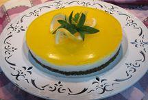 gelati e cheesecake fredde - voglia d'estate