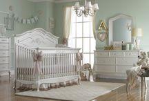 Elegant Nursery for Little Girl / Nursery furniture and design ideas