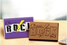 Chocolate Wrapper Bars / Finest chocolate wrapper bars from MyChocolateShapes.com.