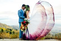 Water Colour Wedding Dresses