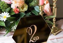Inspiration:  Table Numbers