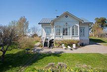 Kauniit kodit ja talot / Kauniita taloja ulkoa ja sisältä