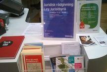 Kista bibliotek och lärcenter, Stockholm / Kollaasi Kistan kirjastosta/lukukeskuksesta ottamistamme kuvista