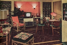 50's interiors