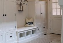 Hall way mud room