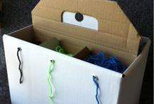 Organization for yarn / by Brett Murphy