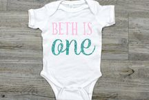 Celebrating Girl's First Birthday / Perfect party Ideas and Gifts to celebrate in style for your little girl's first birthday.