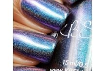 February 2017 - KBShimmer and Sayuri Lacquer / Facebook group: Hella Holo Customs has custom polishes created especially for its members every month of the year.   https://www.facebook.com/groups/HellaHoloCustoms/  Come join the fun!