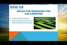 """Agency New Business Webinar - Getting """"Closer to Close"""" / Annual surveys conducted by RSW/US consistently report year-after-year that what marketers want from agencies during their first meetings (and throughout the new business process), and what they get, are two different things.  Our Closer to Close webinar offers very specific actions your agency needs to take during each phase of the prospecting process – starting with initial preparation and leading all the way through to the steps necessary to effectively move a meeting to close.  / by RSW/US Agency New Business"""