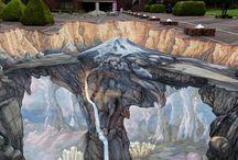 arte urbana 3D