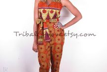 Dashiki and Ankara>>Rompers and Jumpsuits