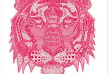 Inspiration | Illustration, Graphic Art & Design / Captivating artwork - some graphic, others hand-drawn, all inspiring.